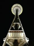 Space needle. First time visit seattle with my friend Royalty Free Stock Photography