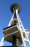 The Space Needle in Seattle Royalty Free Stock Photo