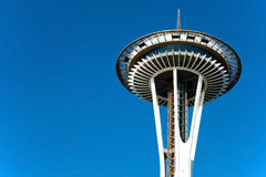 Space Needle in Seattle Royalty Free Stock Image