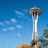 Space Needle in Seattle Royalty Free Stock Photos