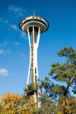 Space Needle in Seattle Stock Photos