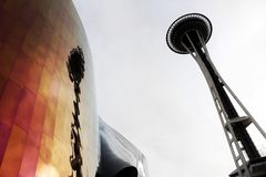 Space Needle Royalty Free Stock Images