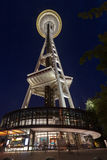 Space Needle Seattle at Night Stock Image