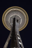 Space Needle Seattle at Night Royalty Free Stock Image