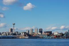 Space Needle and Skyline. Of Seattle, Washington Royalty Free Stock Image
