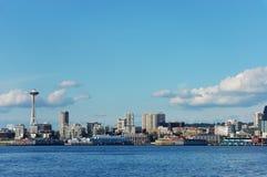 Space Needle and Skyline. Of Seattle, Washington Royalty Free Stock Photography