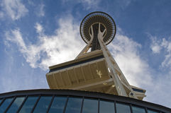 Space needle tower Royalty Free Stock Photography