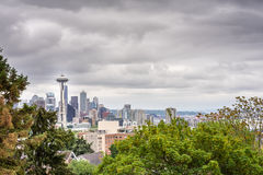Space Needle view from Kerrys Park Stock Images