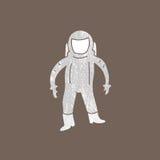 Space people astronaut cartoon Stock Photos
