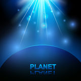 Space and planet Royalty Free Stock Photography