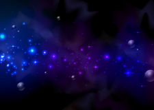 Space and planet. Abstract background. Space and planet Stock Photos