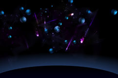 Space and planet. Abstract background. Space and planet Stock Photo