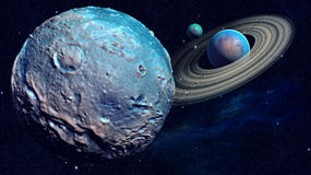 Space planet Stock Photography