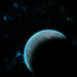 Space planet in galaxy Stock Photos