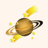 Space planet theme elements. Vector illustration file Royalty Free Stock Image