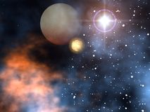 Space Planets Stock Photo
