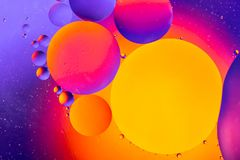 Space or planets universe cosmic abstract background. Abstract molecule atom sctructure. Water bubbles. Macro shot of air or molec. Ule. Abstract space stock photo
