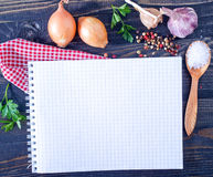 Space for recipe Royalty Free Stock Photos