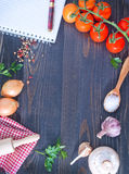 Space for recipe Royalty Free Stock Images