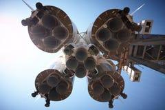 Space rocket Stock Photo