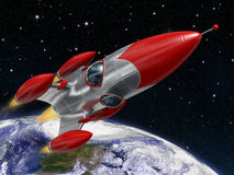 Space rocket Stock Photography