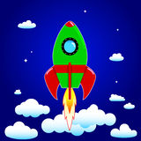 Space  rocket Royalty Free Stock Image