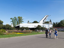 Space rocket Buran, Moscow ENEA Royalty Free Stock Photography
