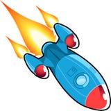 Space rocket cartoon Stock Photos