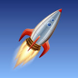 Space rocket Stock Photo