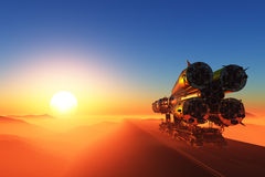 Space rocket Stock Image