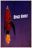 Space rocket Royalty Free Stock Images