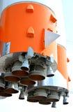 Space rocket engine. Space rocket, Space rocket engine royalty free stock photos