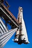 Space rocket - exposition on VDNH. Moscow Stock Image