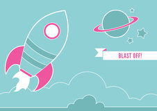 Space Rocket Royalty Free Stock Photography