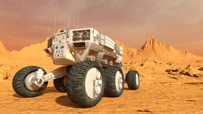 Space rover Royalty Free Stock Photography