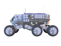 Space rover vector illustration