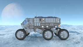 Space rover royalty free illustration