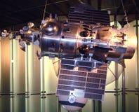 Space satellite. Memorial museum of cosmonautics. Moscow Stock Image
