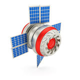Space satellite Royalty Free Stock Photo