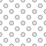 Space satellite pattern seamless vector illustration