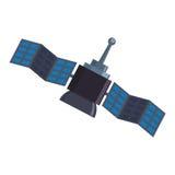 Space satellite technology Royalty Free Stock Photo