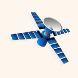 Space Satellite theme elements vector,eps Royalty Free Stock Photo