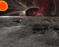 Space scene Stock Photography