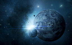 Space scene Royalty Free Stock Images