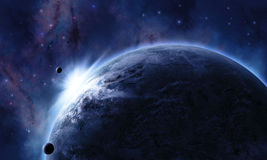 Space Scene Stock Images