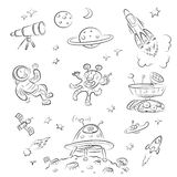 Space Set Stock Image