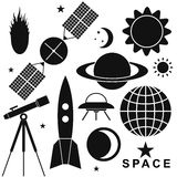 Space. Set Stock Image
