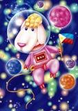 Space sheep Stock Photos