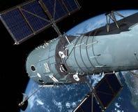 The space ship Royalty Free Stock Photos