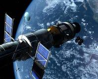 The space ship Stock Photos
